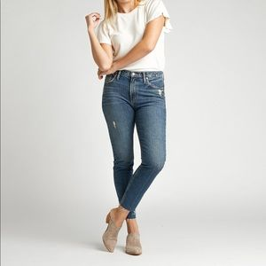 Silver Jeans Frisco High Rise Skinny